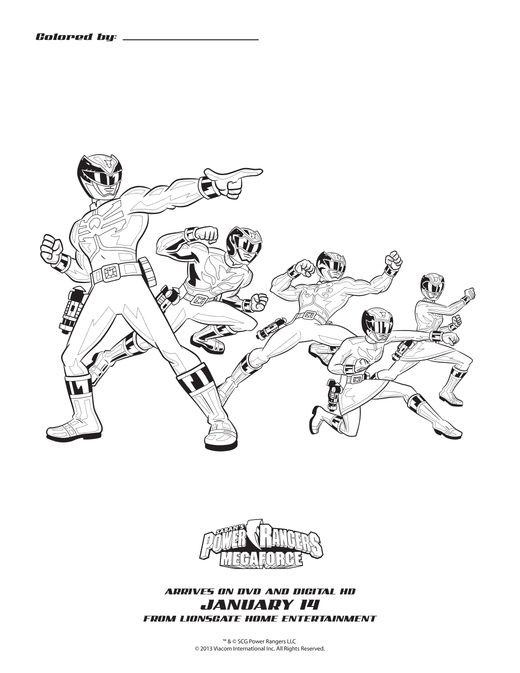 Power Rangers Megaforce: The Mysterious Robo Knight DVD