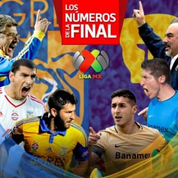 Tigres vs Pumas, checa los números que rodean la final