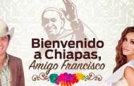 Anahí y Julión Álvarez lanzan en YouTube tema que cantarán al Papa en Chiapas