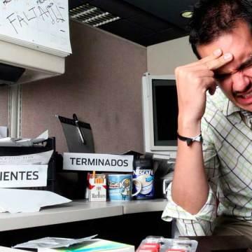 El estrés en el lugar del trabajo es un problema cada vez más grave