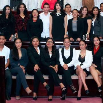 Gran demanda tuvo la convocatoria para integrar el Comité Estatal del Parlamento Juvenil de México por Chiapas