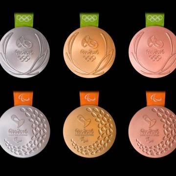 Presentan medallas para Juegos Olímpicos y Paralímpicos Río 2016