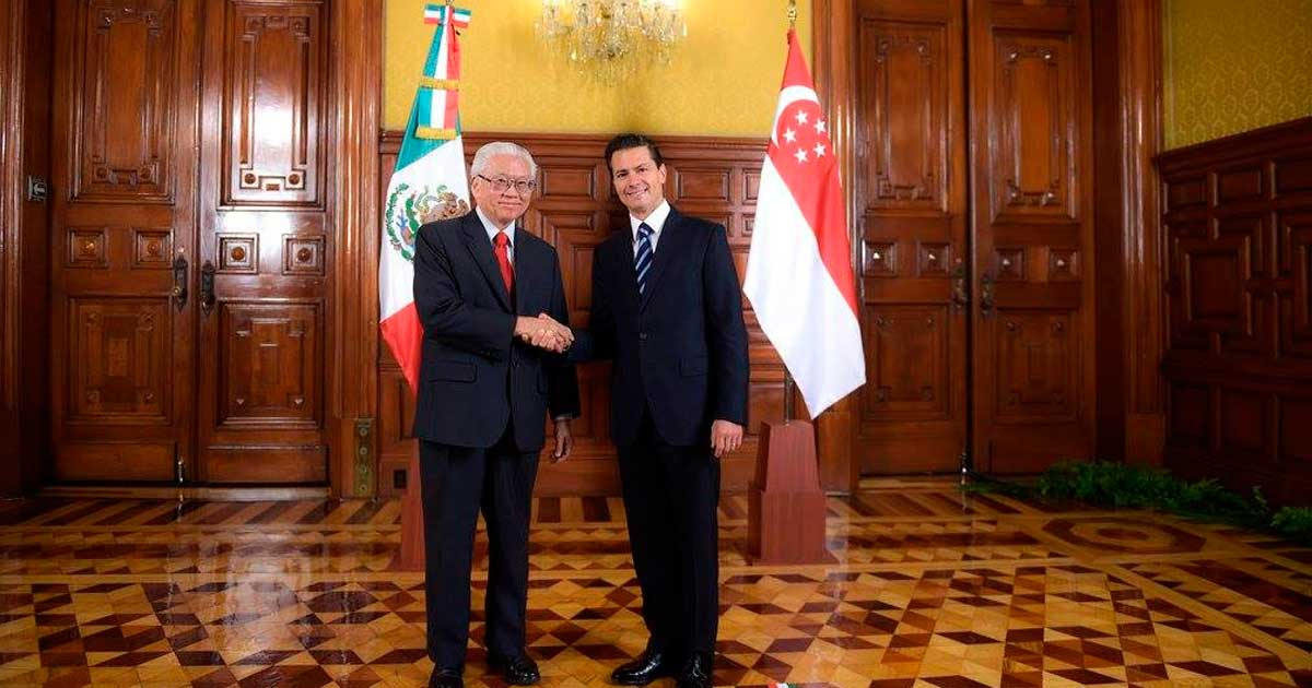 México y Singapur, unidos en el acercamiento entre América Latina y sudeste asiático