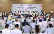 Velasco anuncia 350 mdp para atender a sectores afectados por bloqueos en Chiapas