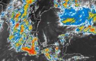 La baja presión remanente de Javier mantiene el pronóstico de lluvias muy fuertes con tormentas intensas en Baja California Sur