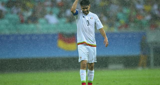 México empata en su debut con Alemania en Río 2016