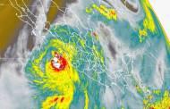 Newton evolucionó a huracán categoría 1, en el Océano Pacífico