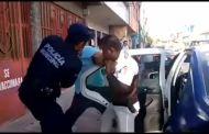 Retiene Tránsito Municipal unidad de transporte colectivo por comportamiento indebido del conductor