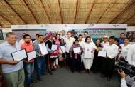 Gobierno de Chiapas y CDI entregan recursos para fortalecer el turismo de naturaleza