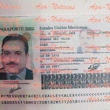 Falsos, los pasaportes con fotos de Duarte y su esposa, confirma la SRE