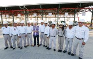 Inaugura Velasco la nueva Terminal de Almacenamiento y Reparto de Pemex en Puerto Chiapas