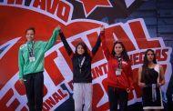Vania Adriano brilla en el Festival de Cintas Negras
