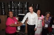Entrega MVC equipos a empresas Marca Chiapas lideradas por mujeres