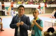 Brandon Sánchez con futuro en el taekwondo