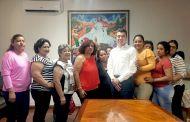 Recibe Rutilio a mujeres organizadas de El Parral