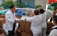"""Secretario de Salud entrega ropería y equipo médico al Hospital """"Rafael Pascacio Gamboa"""""""