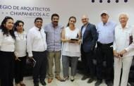 Arquitectos estrechan vínculos con SOPyC