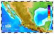 Resumen mensual de sismicidad, marzo 2017