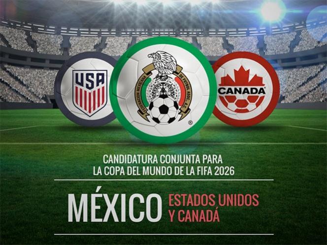 México, Estados Unidos y Canadá, con todo por el Mundial 2026