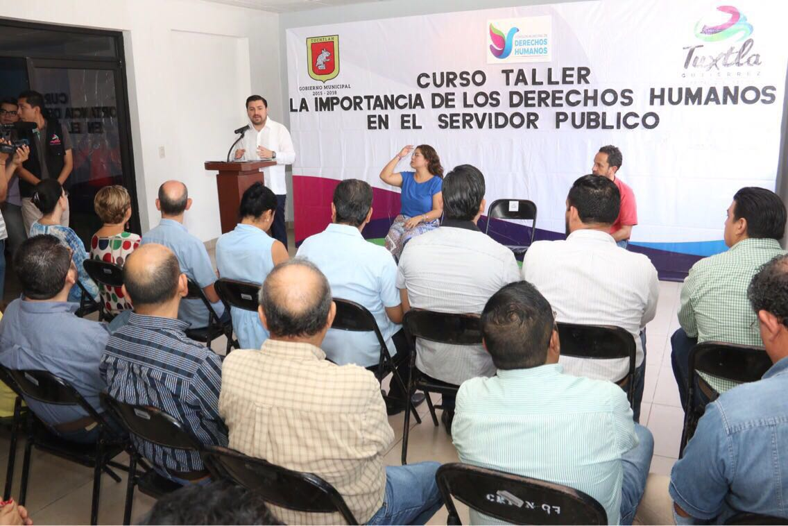 Asegura Ayuntamiento de Tuxtla total respeto a los derechos humanos en servicios públicos