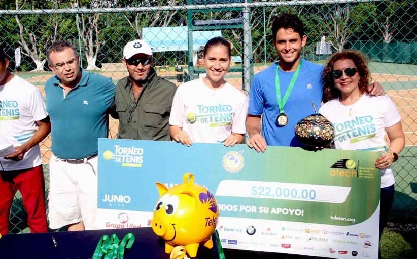 Gana Iván Endara el Torneo de Tenis Teletón 2017