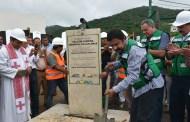 Colocan primera Piedra de Sala de Espera Externa en Hospitales de Chiapas