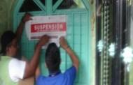Clausura grupo interinstitucional siete bares en Chiapa de Corzo