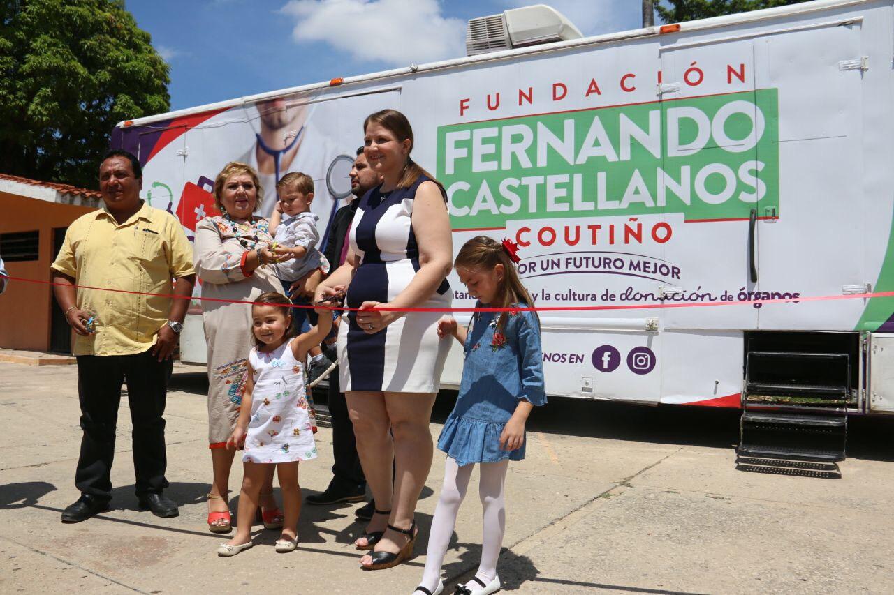 Fundación Fernando Castellanos Coutiño, por el fortalecimiento de la cultura de donación de órganos