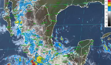 Para las próximas horas, se pronostican tormentas intensas en Veracruz, Guerrero y Oaxaca