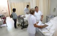 Habitantes de Berriozábal beneficiados con servicios médicos del nuevo hospital