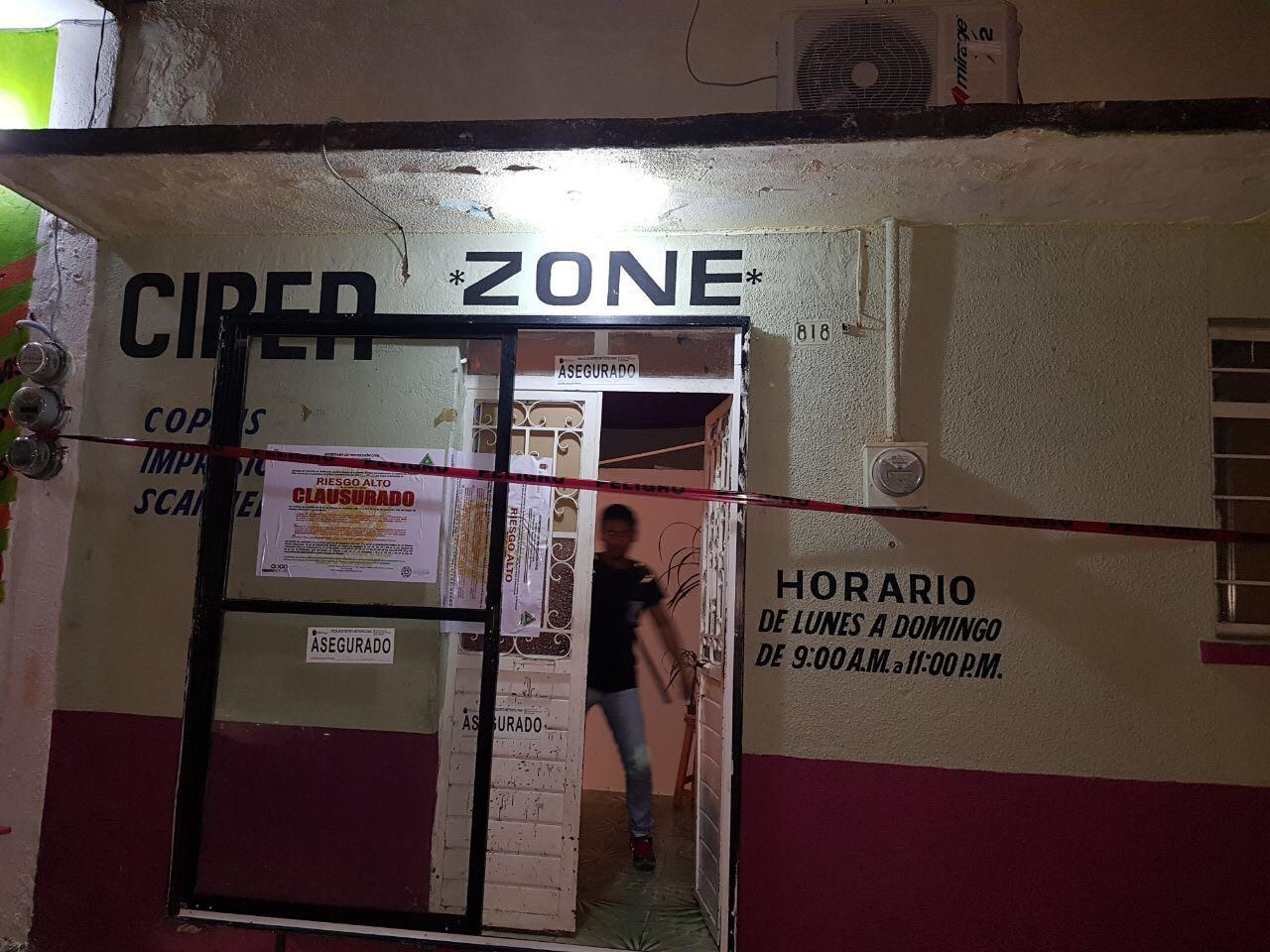 Aseguran inmueble donde operaba Cyber Zone, por diversas irregularidades