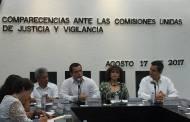 Comparecen aspirantes a integrar Comisión de Selección para el Sistema Anticorrupción
