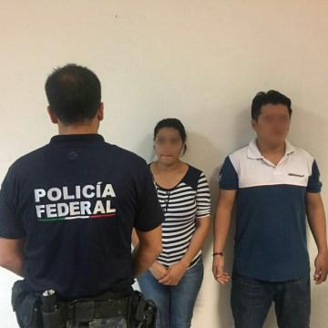 Policía Federal localizó a pareja con orden de aprehensión en su contra por el delito de secuestro en el estado de Chiapas