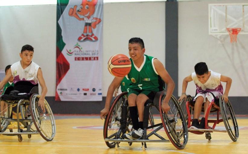 Basquetbol a semifinales en Paralimpiada Nacional 2017
