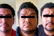 Detiene FGE a tres sujetos por delito contra la salud y portación de arma en Tapachula