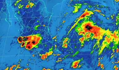 Se prevén tormentas torrenciales en Campeche e intensas en Chiapas, Tabasco, Yucatán y Quintana Roo
