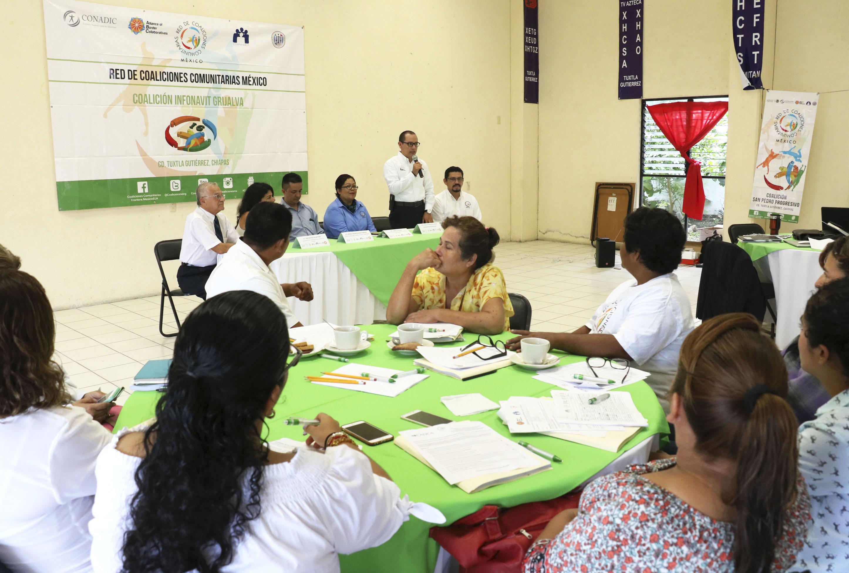 Salud continúa empoderando a la comunidad en la prevención de adicciones