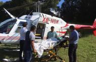 Continúan labores de búsqueda de helicóptero desaparecido