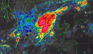 Se pronostican tormentas torrenciales en zonas de Tamaulipas, Puebla y Veracruz