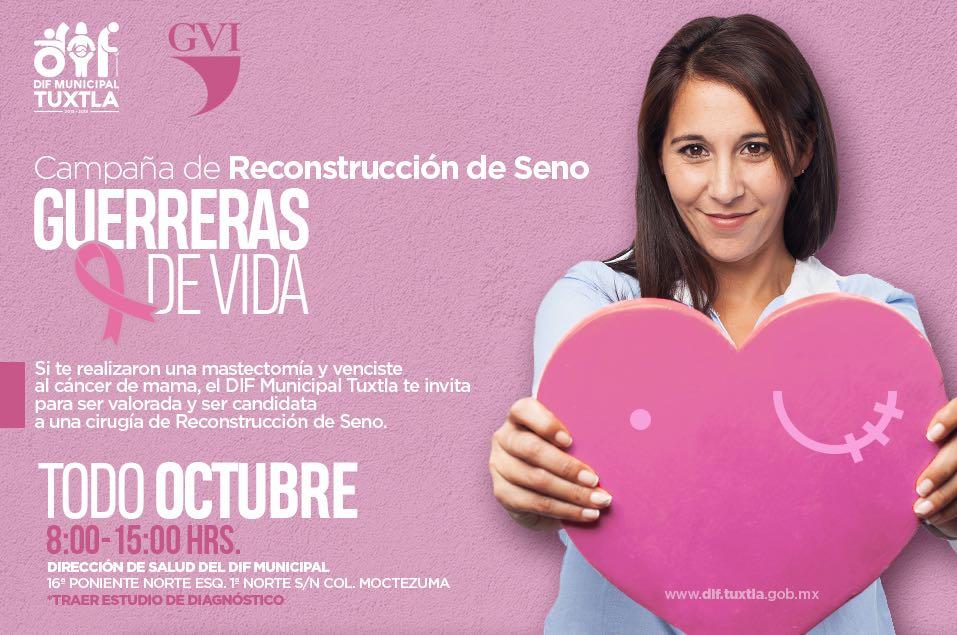 Mujeres que vencieron al cáncer podrán acceder a una cirugía de reconstrucción de seno: Fernando Castellanos