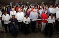 Inauguran Fernando Castellanos y Javier Zorrila 5ª Feria Nacional de Empleo a favor de personas con discapacidad y adultos mayores
