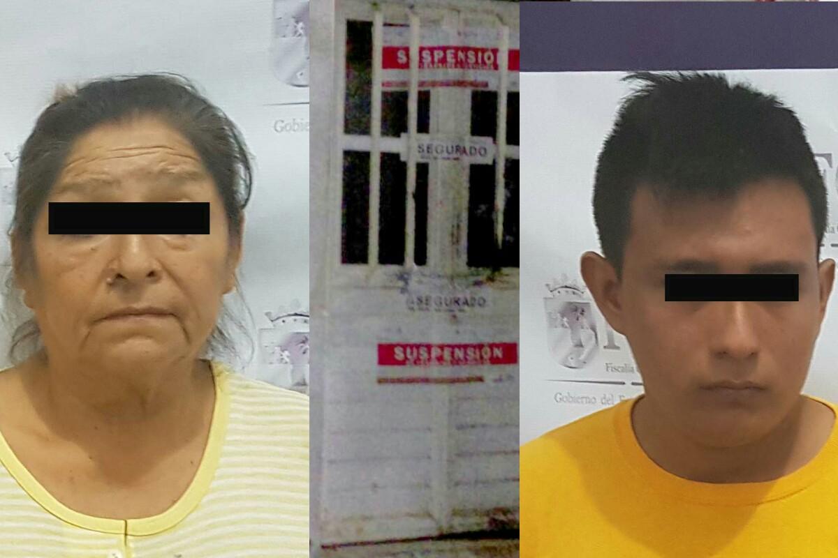 Detiene Fiscalía de Trata a dos sujetos por delito contra la salud en Tuxtla