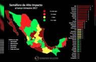 Chiapas es un estado seguro: Semáforo Delictivo