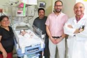 Se realiza con éxito intervención médica en recién nacido con problema cardiaco
