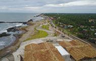 Nuevo Malecón de Tapachula supera el 70%