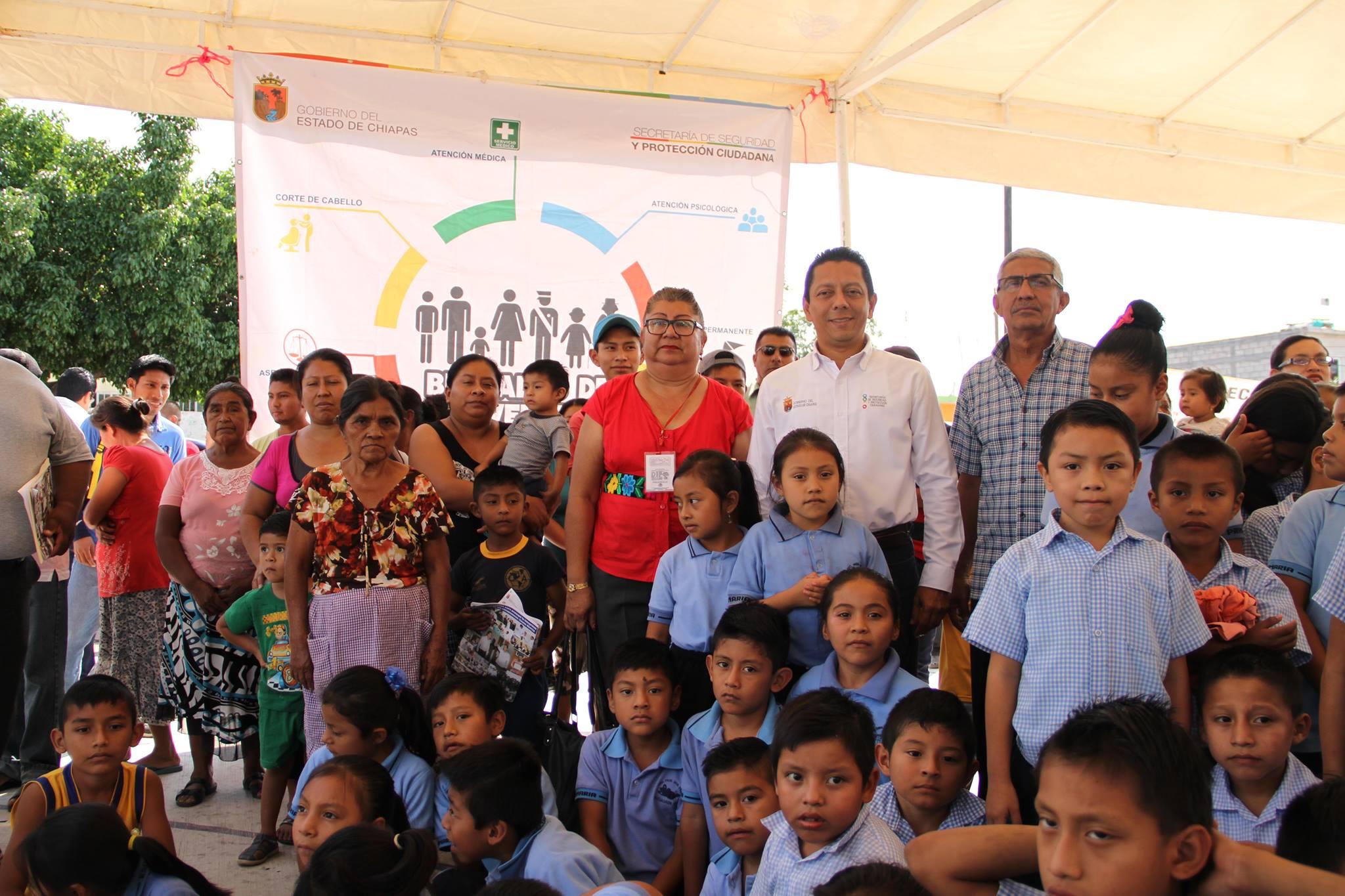 SSyPC lleva la onceava Brigadas de Prevención a Juan de Grijalva