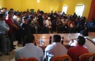 Autoridades municipales y tradicionales de Chalchihuitán acuerdan trabajar por la paz