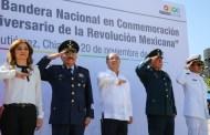 Chiapanecos se unen en festejos del 20 de noviembre