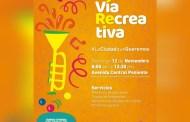 Invita Fernando Castellanos a disfrutar de las actividades de la Vía Recreativa