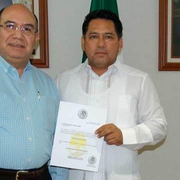 Gobernador Manuel Velasco nombra a Manuel Pulido como Secretario del Campo